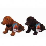 Pes s kývací hlavou 27 cm, 2 druhy