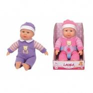 Panenka Laura First Baby Doll 30 cm, 2 druhy