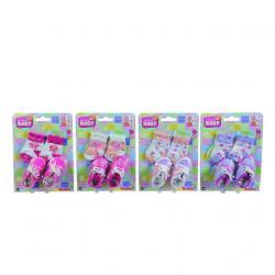 Ponožky a topánočky pre bábiky, vel.38-43