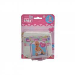 Pieluszki Pampers z kolekcji New BABY born® od Simby