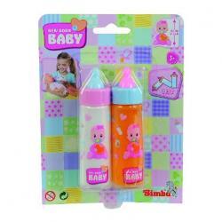 2 fľaštičky pre bábiky