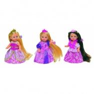 Panenka Evička Rapunzel, extra dlouhé vlasy, 3 druhy
