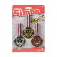 Tri medaile