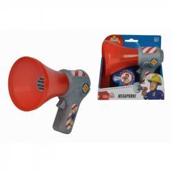 Simba Strażak SAM Megafon Dzwięk