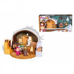 Máša a medveď Zimný dom medveďa