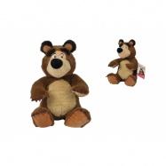 Máša a medvěd Plyšový medvěd 20cm, sedící