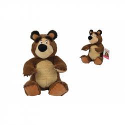 Máša a medveď Plyšový medveď 20 cm, sediaci