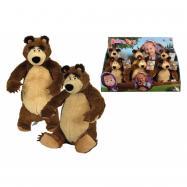 Máša a medveď Plyšový medveď 25 cm, 2 druhy, DP6