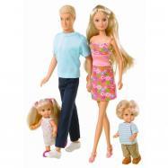 Bábika Steffi XL Rodina