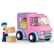 Sluban Girls Dream Town M38-B0520 Zmrzlinové auto