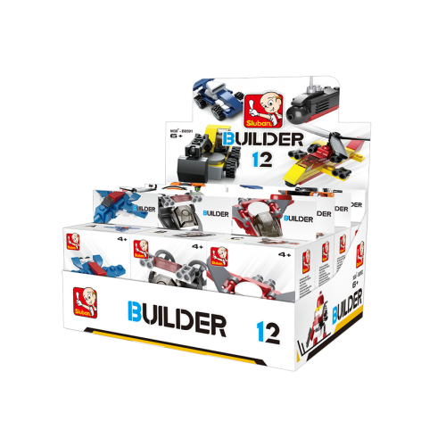 Sluban Builder M38-B05391 1ks H robot zelený