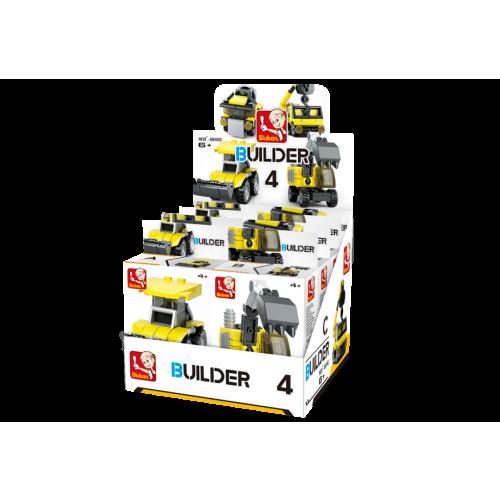 Sluban Builder M38-B05392 4 Stavitelé 1ks A