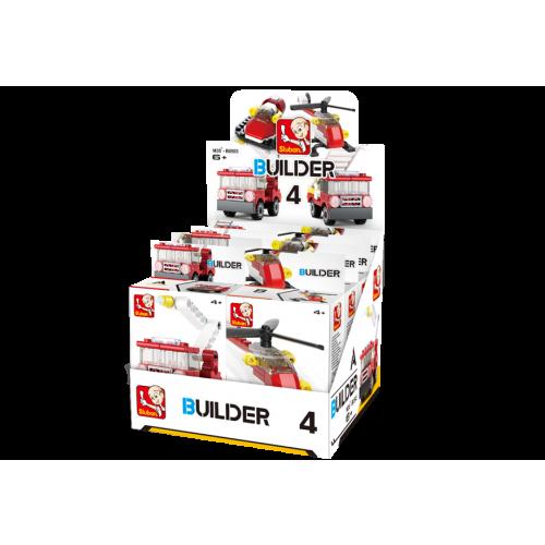 Sluban Builder M38-B05393 4 Hasiči 1ks D