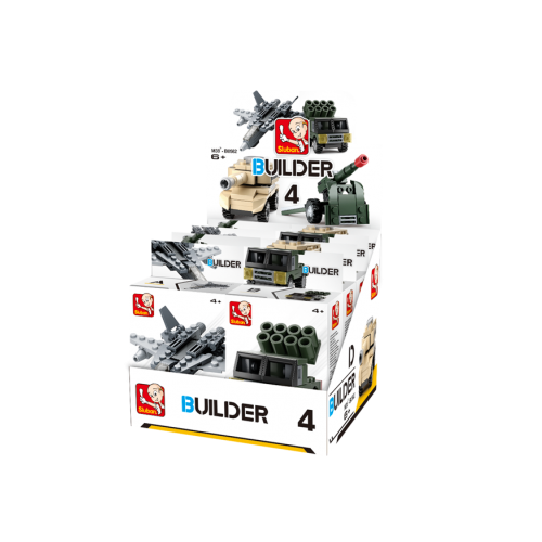 Sluban Builder M38-B05396 4 Army 1ks D