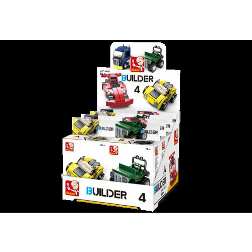 Sluban Builder M38-B05397 4 Vozy 1ks