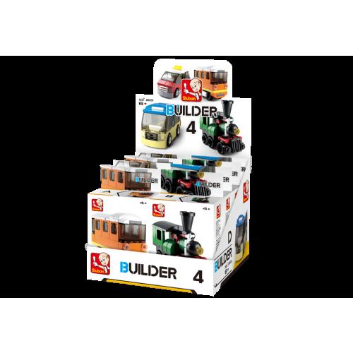 Sluban Builder M38-B05398 4 Veřejná doprava 1ks