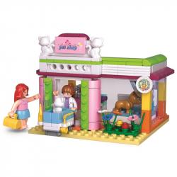 Sluban Girls Dream Holidays M38-B0602 Veterinárna klinika