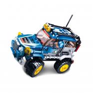 Sluban Car Club M38-B0663C Off Road modrý