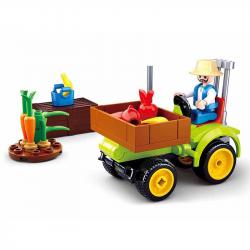 Sluban Town Farm M38-B0776 Ciągnik do owoców