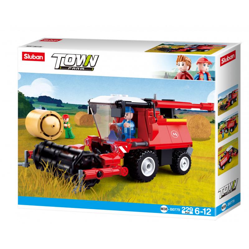 Sluban Town Farm M38-B0779 Kombajn