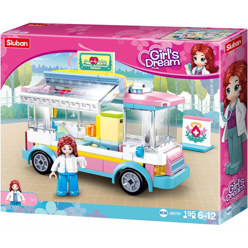 Sluban Girls Dream M38-B0797 Ambulance