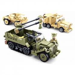 Sluban Army M38-B0812 Vojenské vozidlá