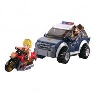 Sluban Polícia M38-B0650 Offroad a zlodej na motorke