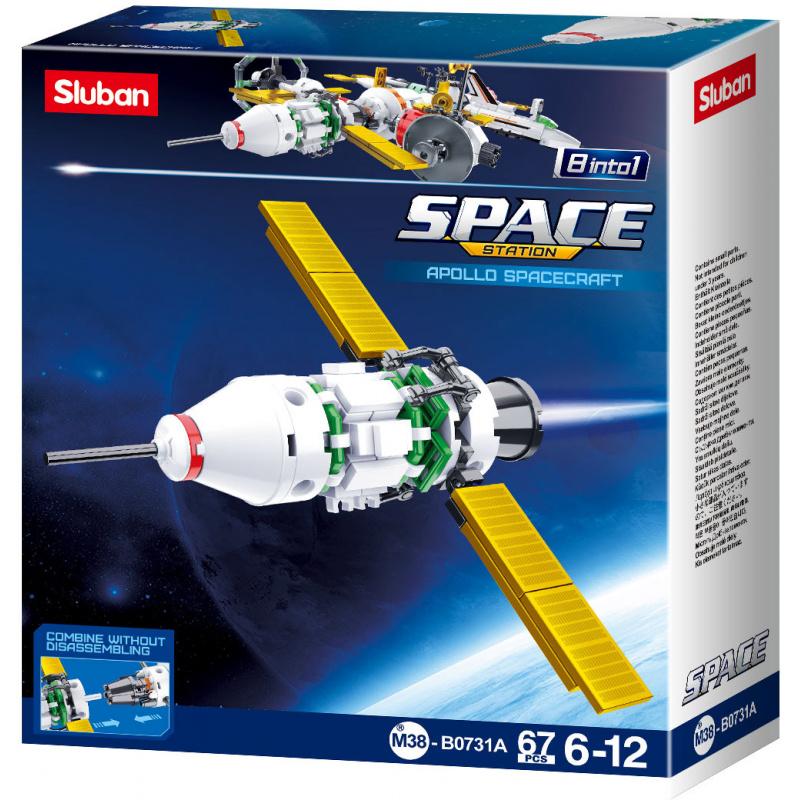 Sluban Space M38-B0731A Satellit A