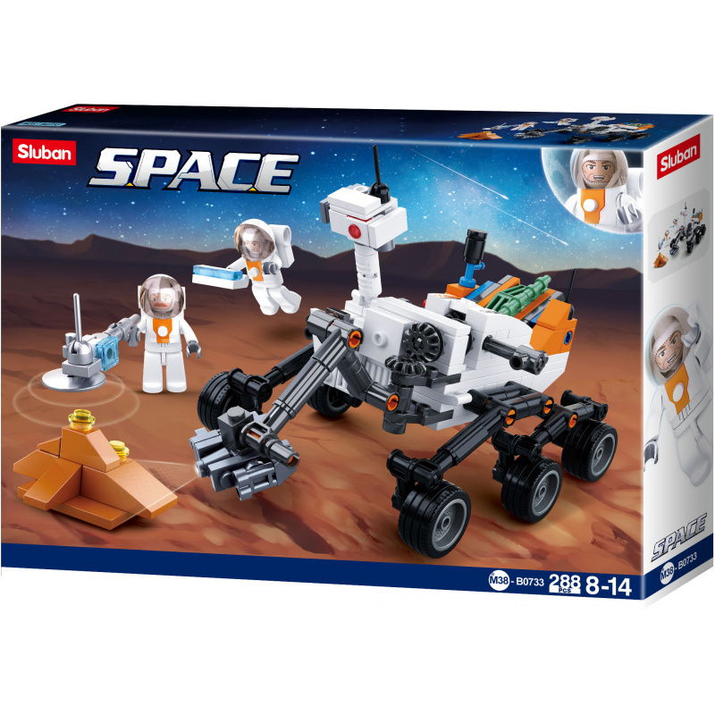 Sluban Space M38-B0733 Rover
