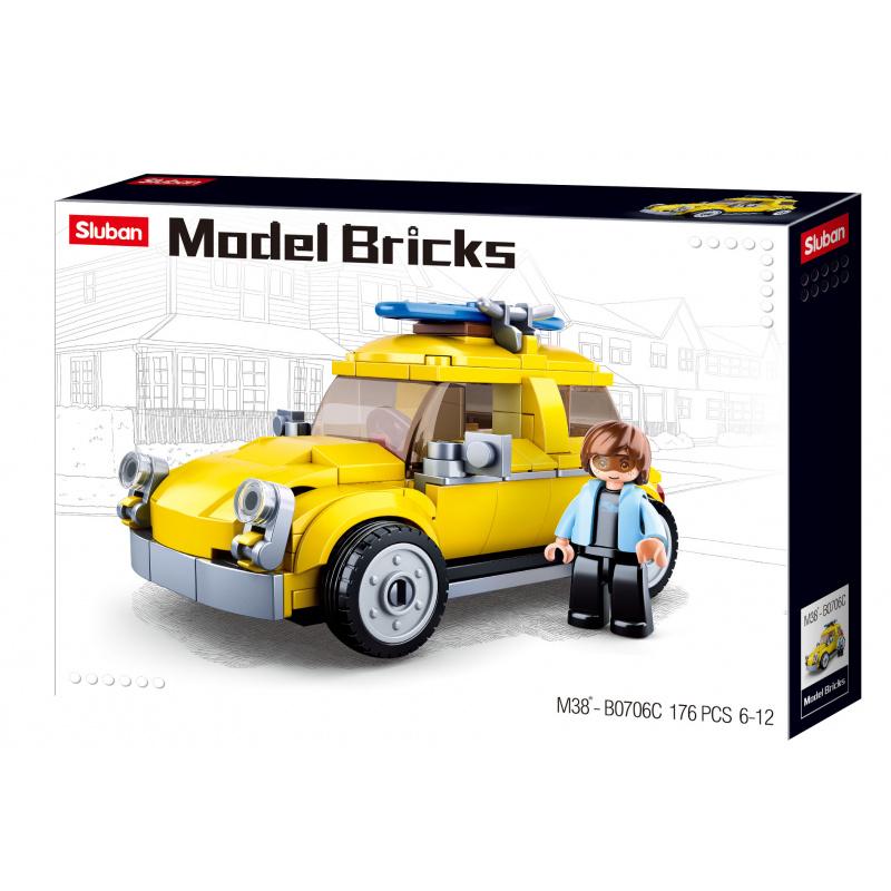 Sluban Modely M38-B0706C Volks vůz
