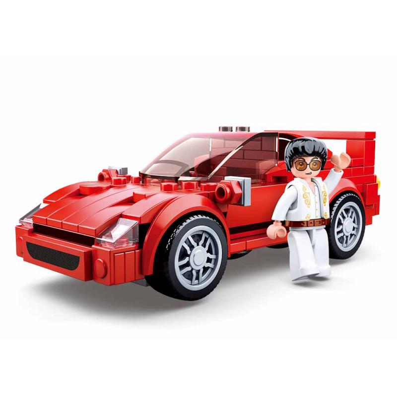 Sluban Modely M38-B0706D Italský sportovní vůz