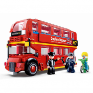Sluban Modele M38-B0708 Double Decker autobus