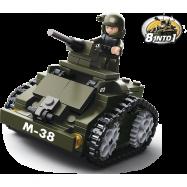 Sluban Army 8into1 M38-B0587C Obrněný vůz