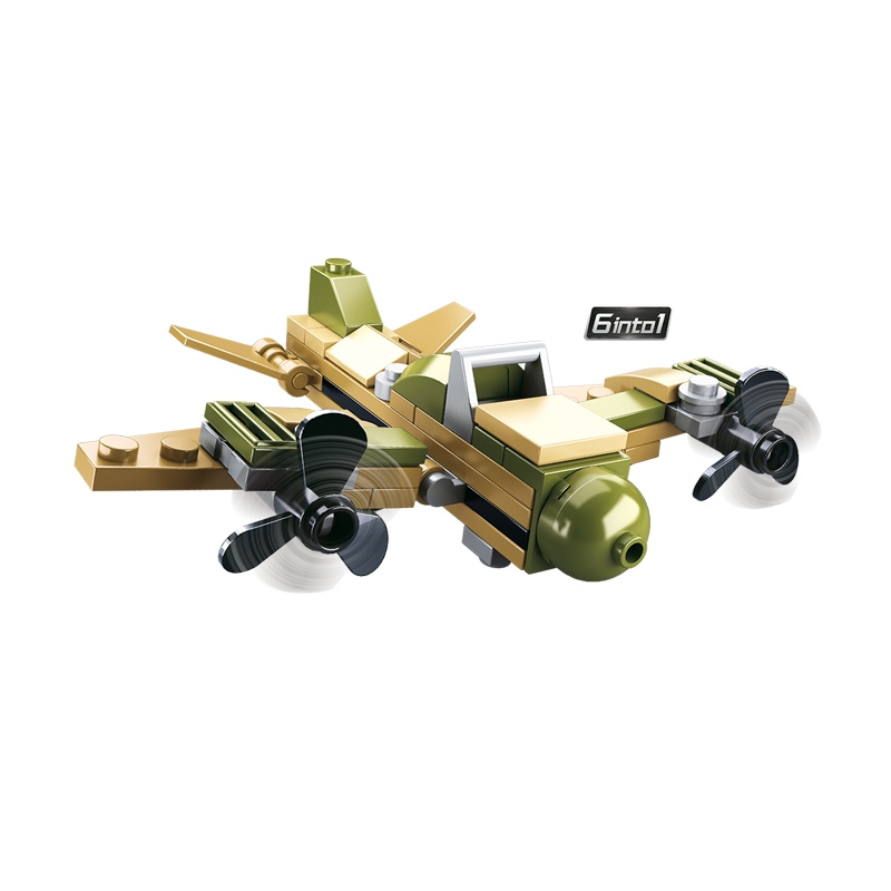 Sluban Builder M38-B0636 King of Land Force 1ks  číslo 2