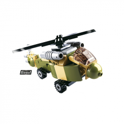 Sluban Builder M38-B0636 King of Land Force 1ks  číslo 4