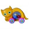 Kotek z piłeczkami do ciągania