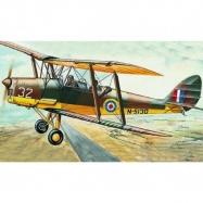 Model D.H.82 Tiger Moth 15,4x19cm v krabici 31x13,5x3,5cm
