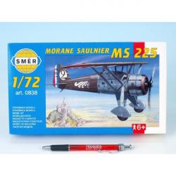 Smer 0838 Morane Saulnier MS 225 9,2x15,4cm
