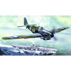 Model Fairey Fulmar Mk.I / Mk.I 17x19,6cm v krabici 25x14,5x4,5cm