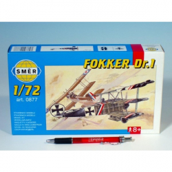 Smer 0877 Fokker Dr.I 8,01x9,98cm