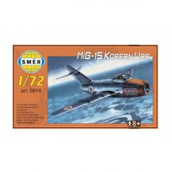Model MiG-15 Korean War 1:72 15x14cm w pudełku