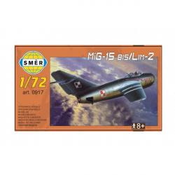 Model MiG-15 bis / Lim-2 1:72 15x14cm w pudełku