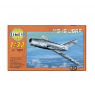 Model MiG-15 USAF 1:72 15x14cm w pudełku