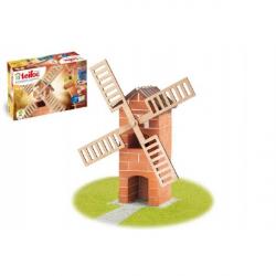 Stavebnice Teifoc Větrný mlýn 100 ks