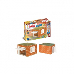 Stavebnice Teifoc Garáž II v krabici