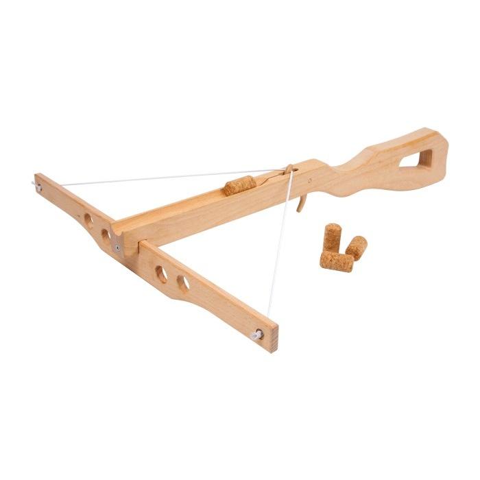 Dřevěné hračky pro kluky - Korková kuše