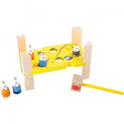 Zabawka drewniana dla dzieci - Przebijanka