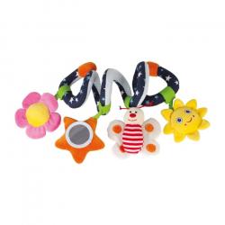 Textilní hračky - Spirála pro miminka