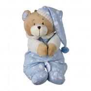 Plyšová hračka pre najmenších - Hracie medvedík