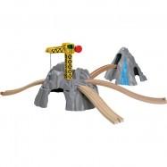 Dřevěné příslušenství vláčkodráhy - Mountain